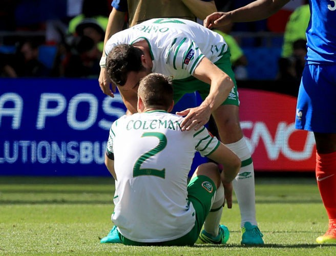 Captain Seamus Coleman Thanks The Green Army Everywhere