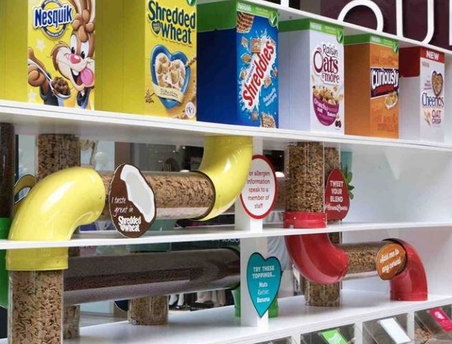 Nestlé Pick'n'Mix Cereal Station Is In Dublin