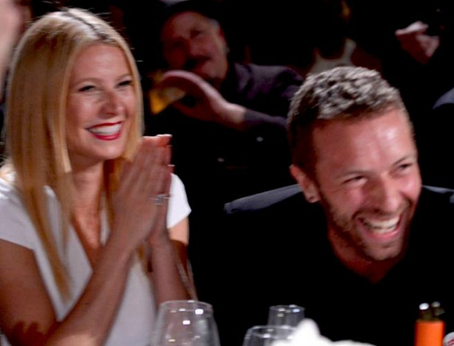 Gwyneth & Chris To Live In Same House ....Eh OK then...