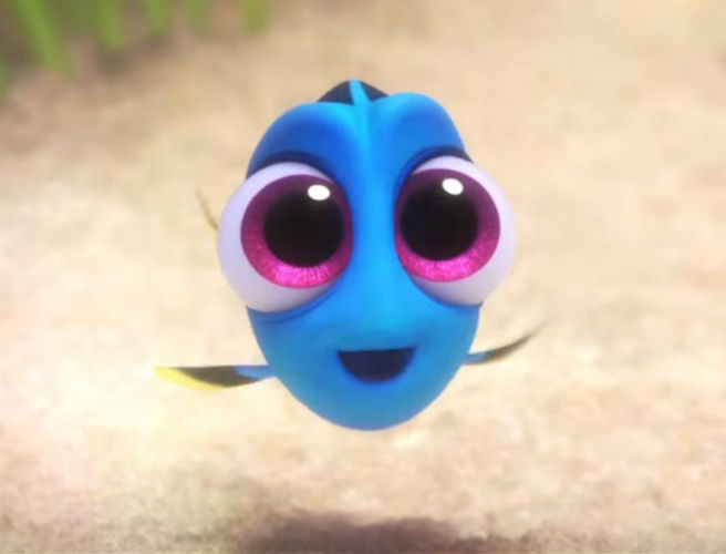 New Finding Dory Clip - Meet Baby Dory