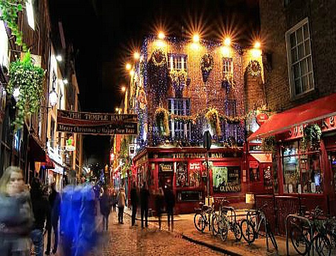 Watch This Beautiful Time-Lapse Video Of Dublin At Christmas