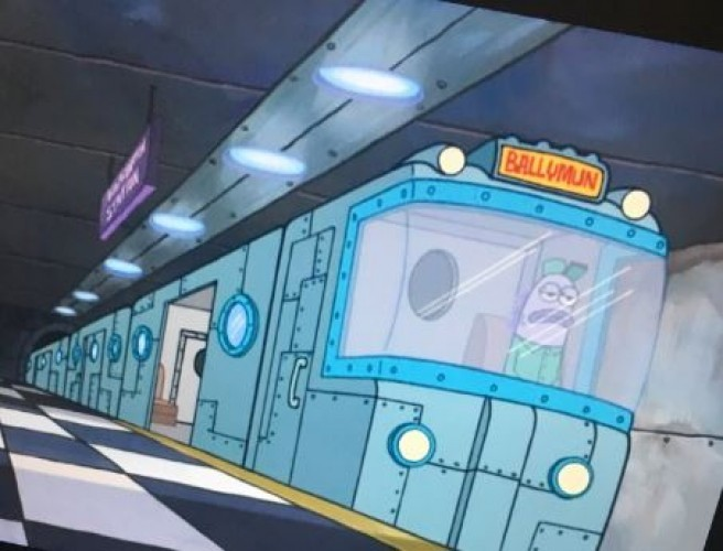 There Are Hidden References To Ballymun In Spongebob Squarepants