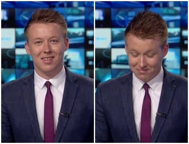 Watch An Irish Newsreader Get The Giggles On Live TV