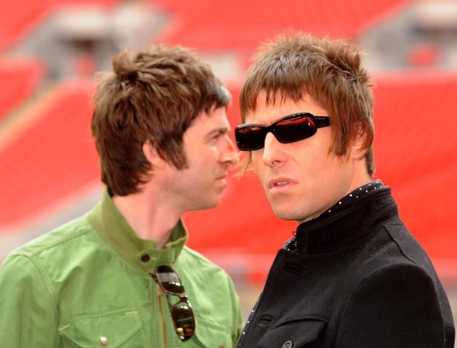 Liam And Noel Gallagher Look Like They've Made Up