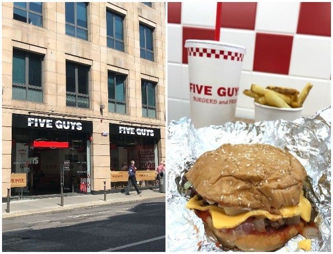 Five Guys Opens On George's Street