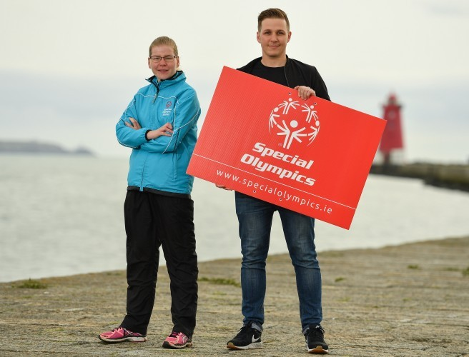 Brian Maher Completes 98FM's Big Swim For Special Olympics Ireland