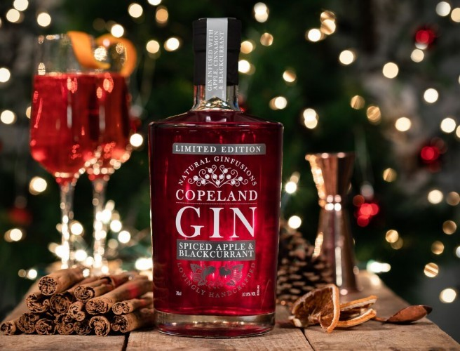 Berry Coloured Festive Gin Lands In Aldi