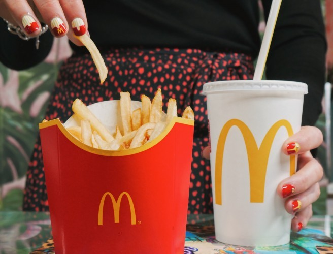 Tropical Popical & McDonald's Launch Festive Manicures