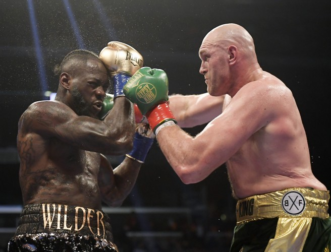 Fury-Wilder ends in incredible draw in Los Angeles